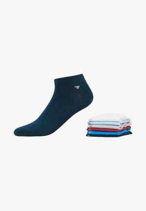 SNEAKER UNI BASIC 6 PACK - Chaussettes - white/light blue/grey