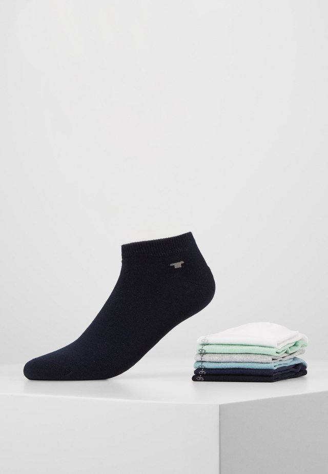SNEAKER UNI BASIC 6 PACK - Socks - dark blue/light grey/white