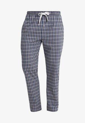 Spodnie od piżamy - blue-dark-check