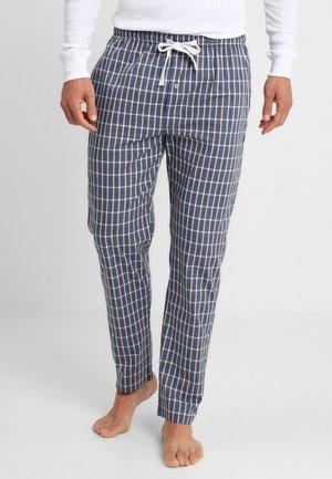 Pantalón de pijama - blue-dark-check