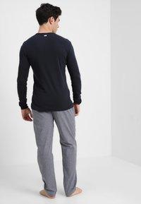 TOM TAILOR - Pyjama bottoms - blue medium - 2