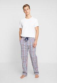 TOM TAILOR - LANG - Pantalón de pijama - blue/light - 1