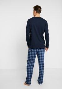 TOM TAILOR - Pijama - dark blue - 2