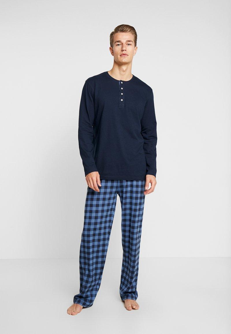 TOM TAILOR - Pijama - dark blue