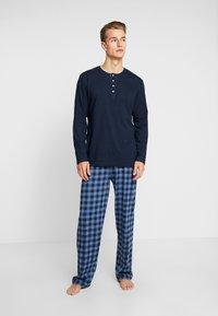 TOM TAILOR - Pijama - dark blue - 1