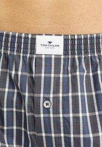 TOM TAILOR - 2ER PACK - Boxer shorts - darkblue/blue - 5