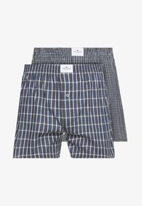TOM TAILOR - 2ER PACK - Boxer shorts - darkblue/blue - 4