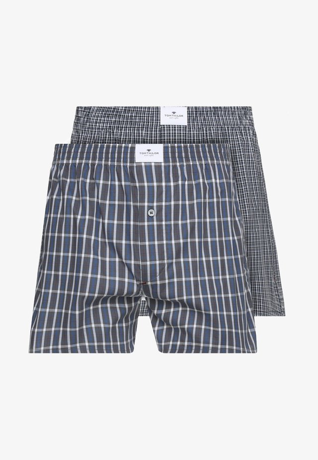 2ER PACK - Boxer shorts - darkblue/blue