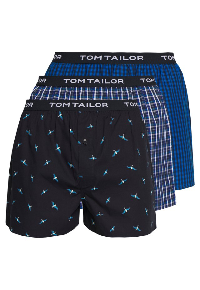 3 PACK - Boxer shorts - blue/black