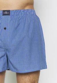 TOM TAILOR - 3 PACK - Boxer shorts - dark blue/blue/green - 4