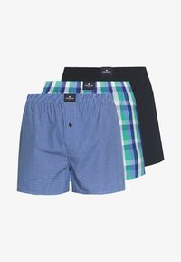 TOM TAILOR - 3 PACK - Boxer shorts - dark blue/blue/green - 5