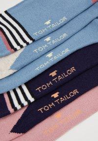 TOM TAILOR - GRAPHIC SOCKS  6 PACK - Calze - light pink - 2