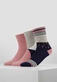 TOM TAILOR - GRAPHIC SOCKS  6 PACK - Calze - light pink - 0