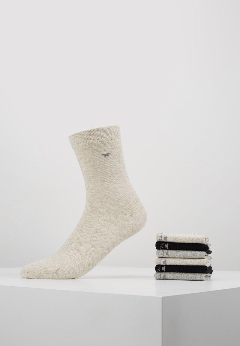 TOM TAILOR - BASIC 6 PACK - Socks - beige