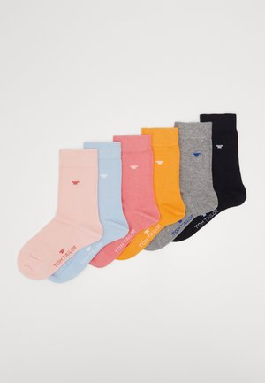 BASIC 6 PACK - Calcetines - multicolor