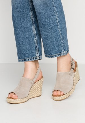MONICA - Sandały na obcasie - desert taupe