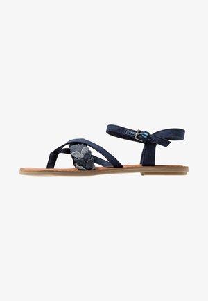 LEXIE - T-bar sandals - navy