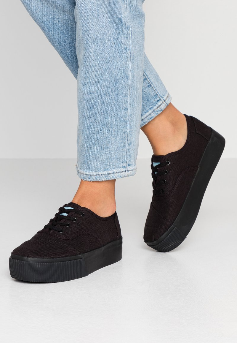 TOMS - ALPARGATA BOARDWALK - Sneaker low - black