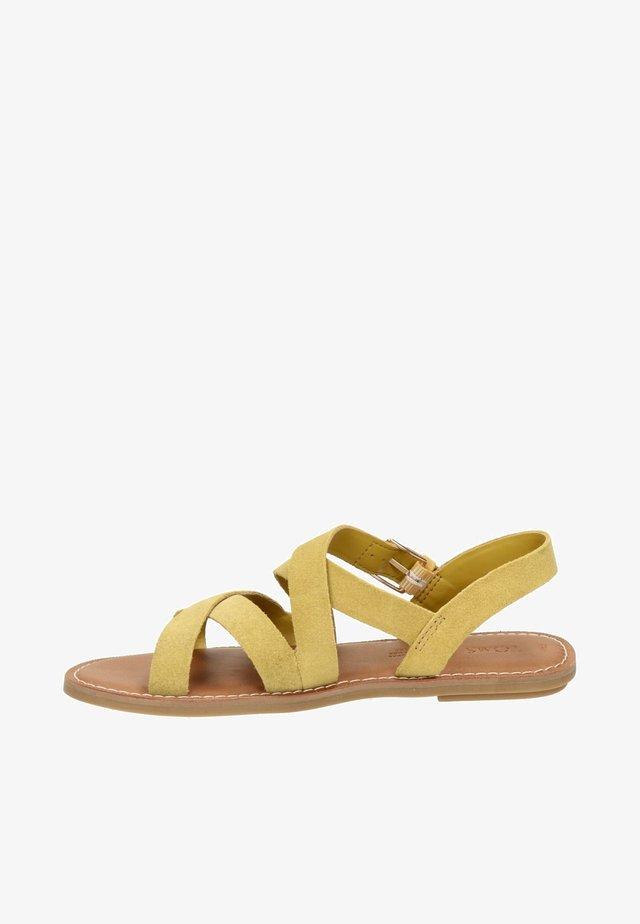 SICILY  - Sandals - geel