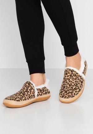 INDIA - Pantofole - tan