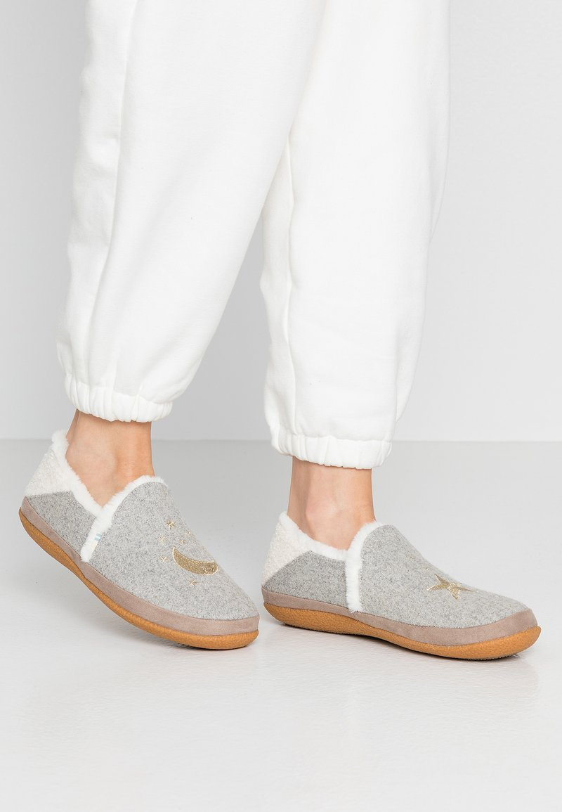 TOMS - INDIA - Hausschuh - grey