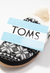 TOMS - INDIA - Pantuflas - black - 7