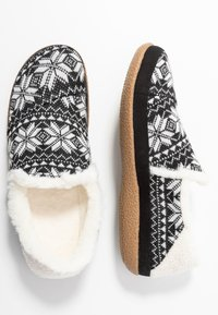 TOMS - INDIA - Pantuflas - black - 3