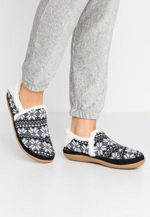 INDIA - Pantuflas - black