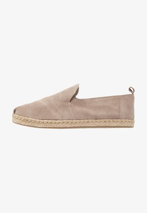DECONSTRUCTED ALPARGATA ROPE - Espadrilky - taupe