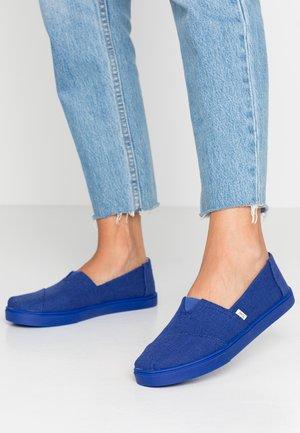 ALPARGATA - Nazouvací boty - indigo