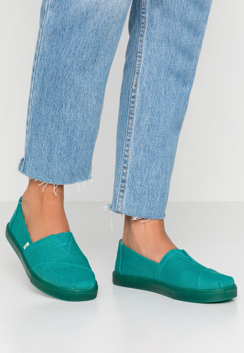 TOMS - ALPARGATA - Slipper - green