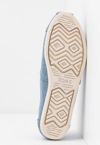 TOMS - ALPARGATA - Nazouvací boty - blue - 6