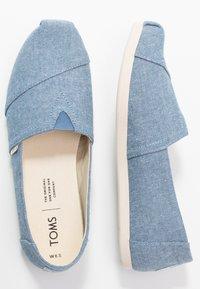 TOMS - ALPARGATA - Nazouvací boty - blue - 3