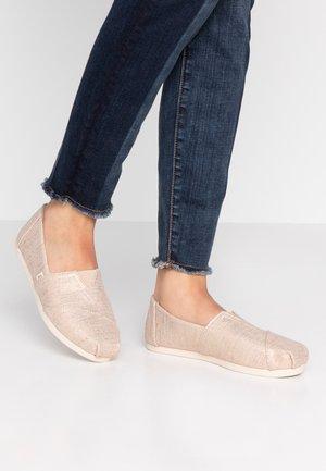 ALPARGATA - Nazouvací boty - natural