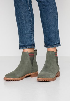 CLEO - Classic ankle boots - olive
