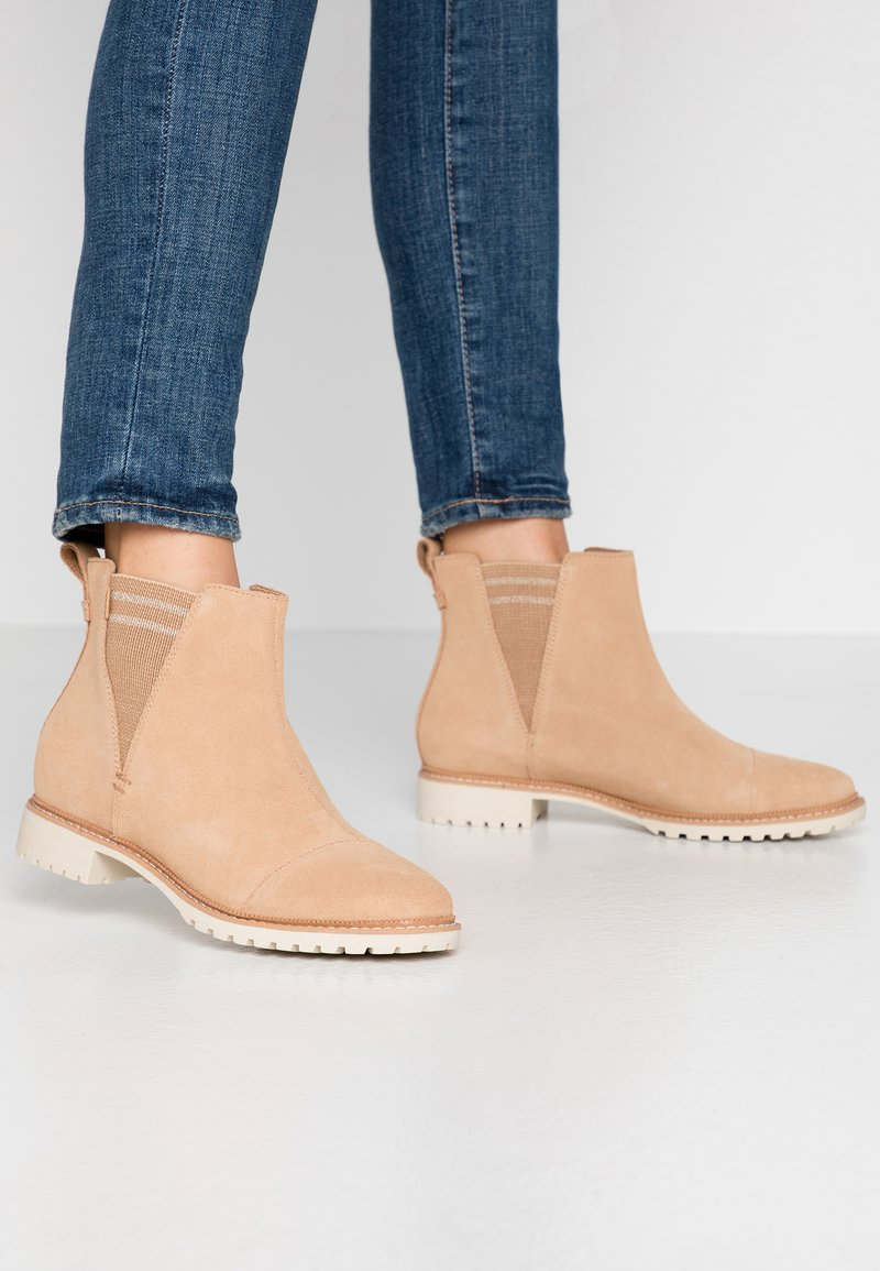 TOMS - CLEO - Ankle Boot - tan