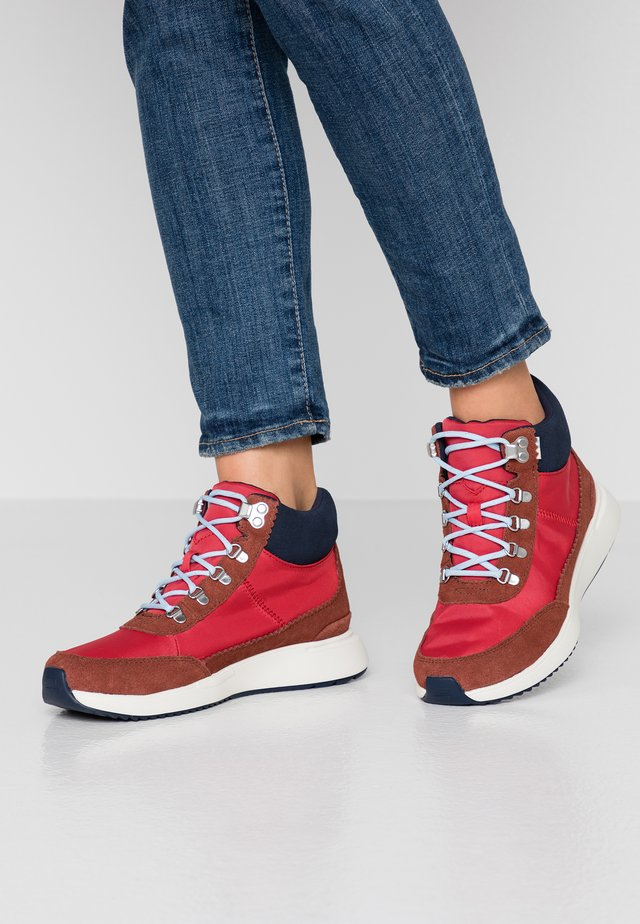 CASCADA - Ankle boots - red