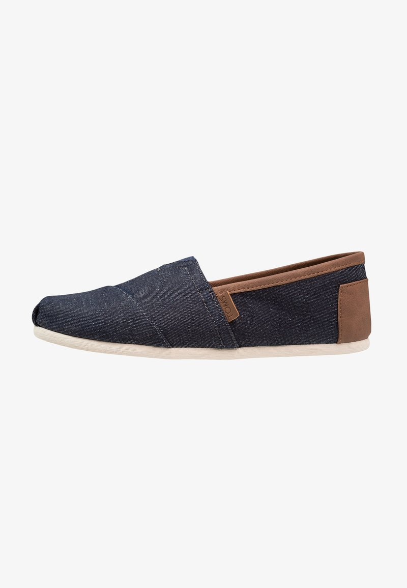 TOMS - ALPARGATA - Mocasines - dark denim