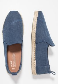 TOMS - DECONSTRUCTED ALPARGATA ROPE - Espadrilles - navy - 1