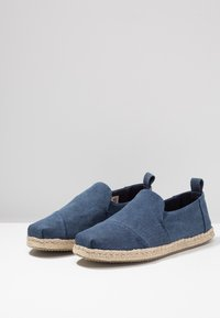 TOMS - DECONSTRUCTED ALPARGATA ROPE - Espadrilles - navy - 2