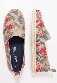 TOMS - ALPARGATA TROPICAL - Espadrilles - natural - 1