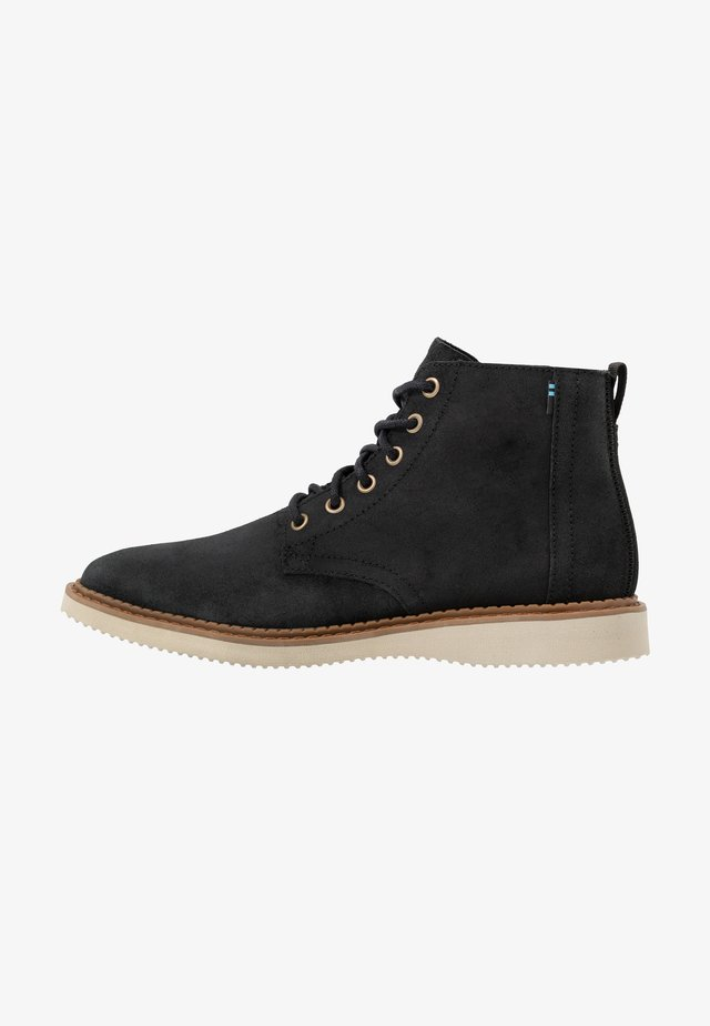 PORTER - Lace-up ankle boots - black