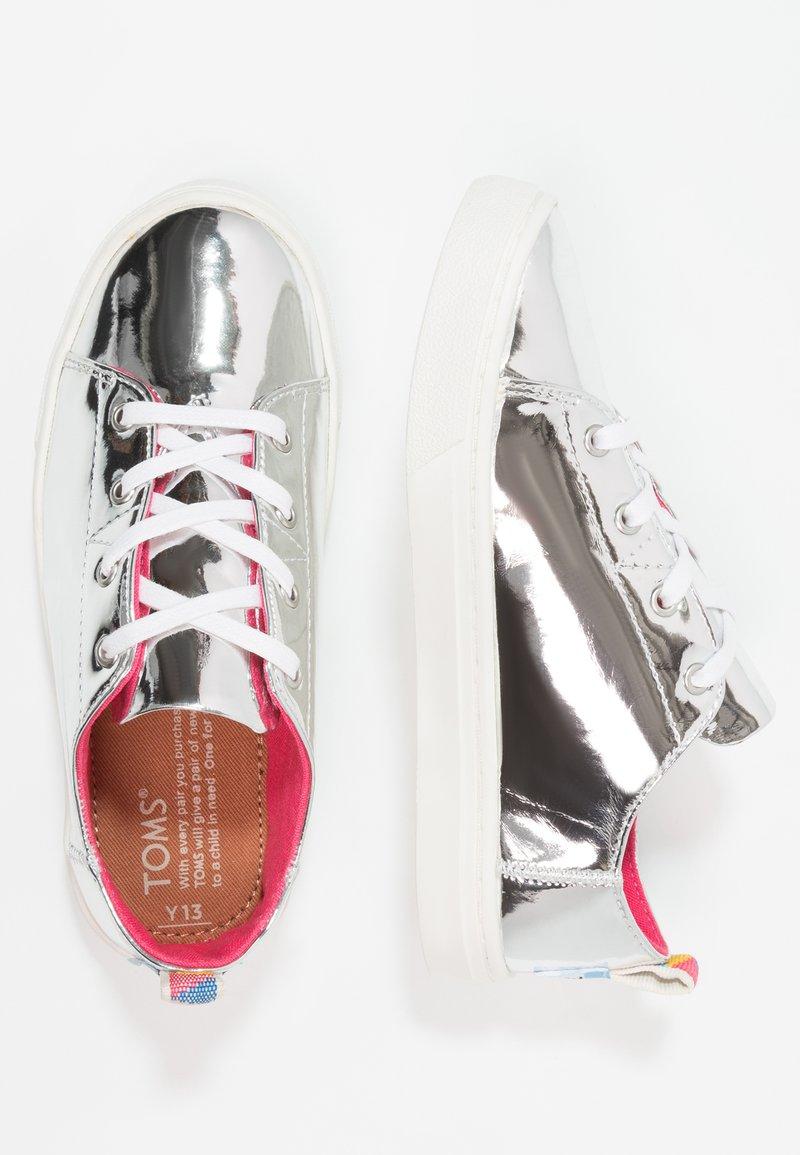 TOMS - LENNY - Sneaker low - silver