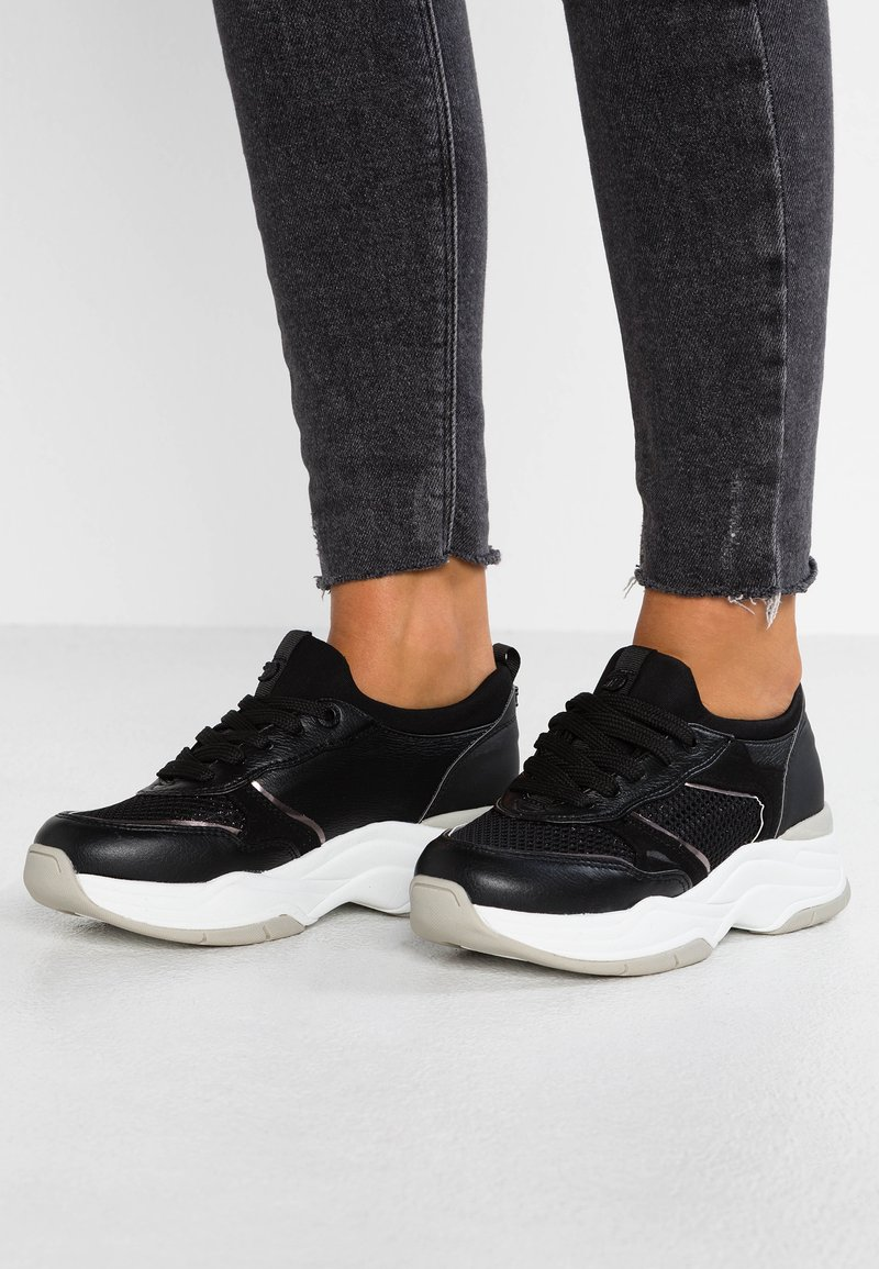 TOM TAILOR DENIM - Sneaker low - black