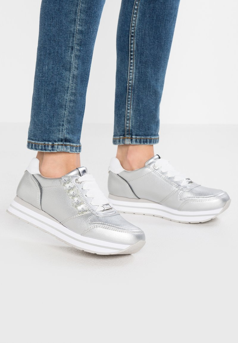 TOM TAILOR DENIM - Sneakers - silver