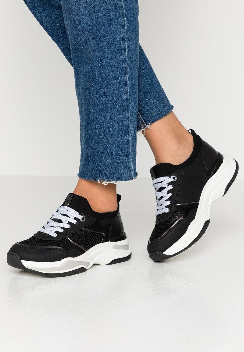 TOM TAILOR DENIM - Sneakers laag - black