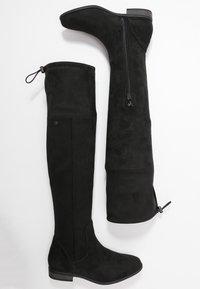 TOM TAILOR DENIM - Over-the-knee boots - black - 3