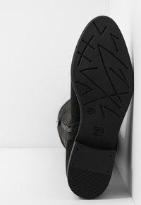 TOM TAILOR DENIM - Over-the-knee boots - black - 6
