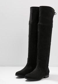 TOM TAILOR DENIM - Over-the-knee boots - black - 4