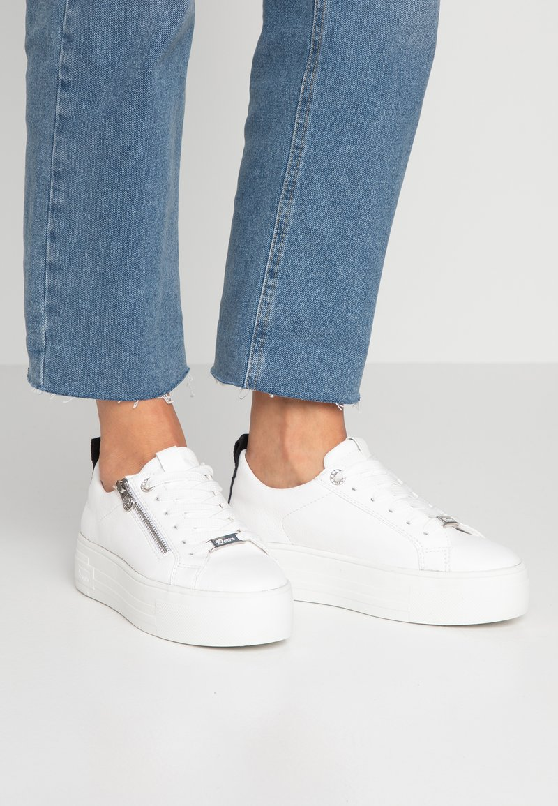 TOM TAILOR DENIM - Sneakersy niskie - white